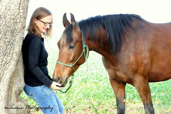 Pferdetraining und Horsemanship mit schwierigen Problempferden