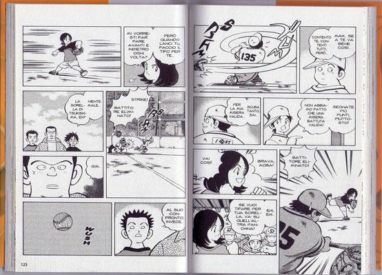 I disegni di Adachi sono tratti da Cross Game