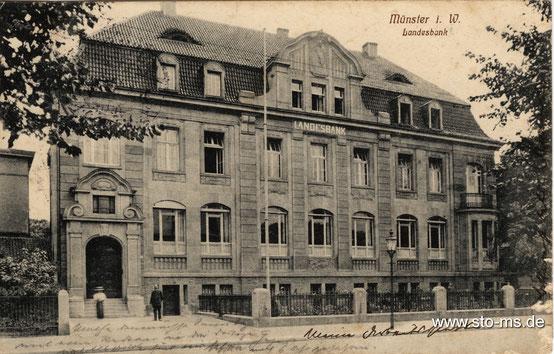 Die Landesbank an der Friedrichstraße-Warendorfer Straße