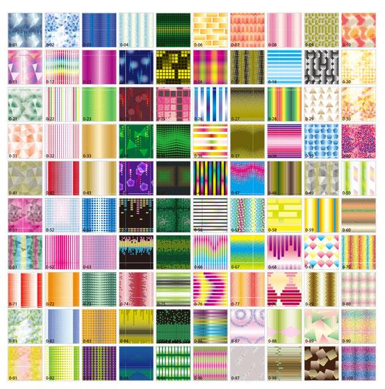 グラデーションのパターン柄 背景余白用画像