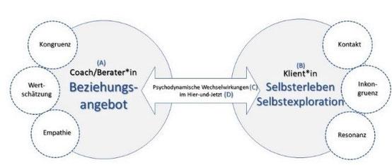 Das Personzentrierte-Kräfte-Modell; ©Hellwig, C. 2020
