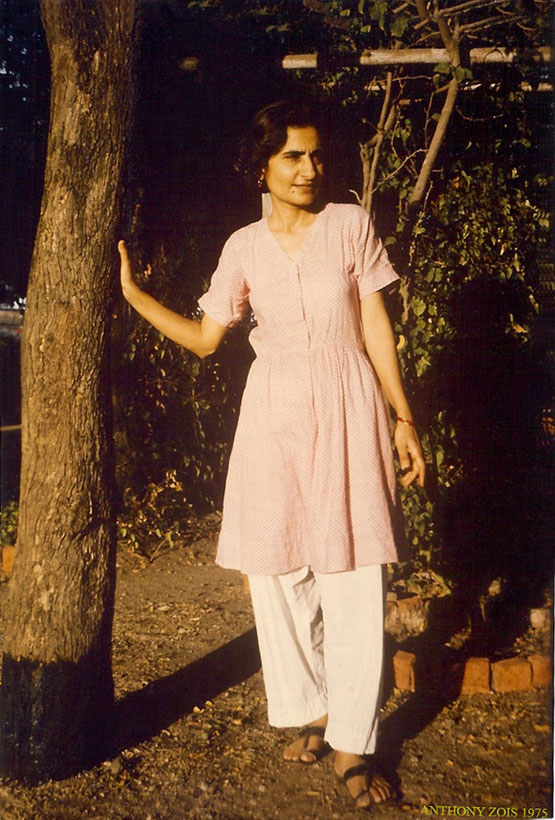 Meheru Irani - Photo taken by Anthony Zois - Meherazad, January 1975