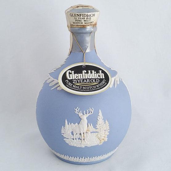 グレンフィディック 21年 ウエッジウッドボトル