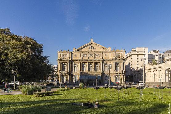 Außenansicht Teatro Colón in Buenos Aires
