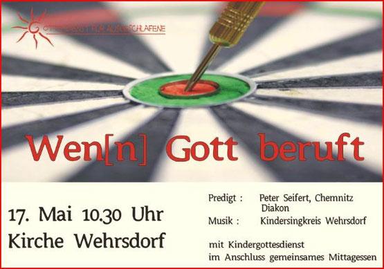 Plakat Wen(n) Gott beruft