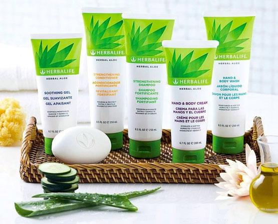 Aloe Pflege-Serie für Haut und Haar