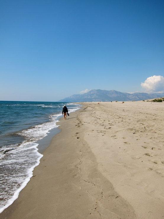 Strand von Patara Türkei