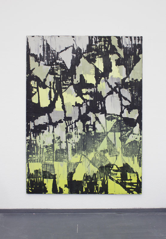 IdfcatR / 2020 / Gips / Vinyl / Lack / Polyester / 180 x 130 cm