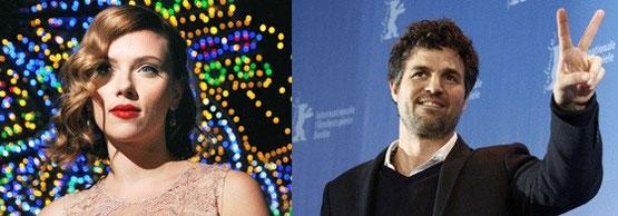 "Scarlett Johansson et Mark Ruffalo ensemble dans ""Can a song save your life ?""."