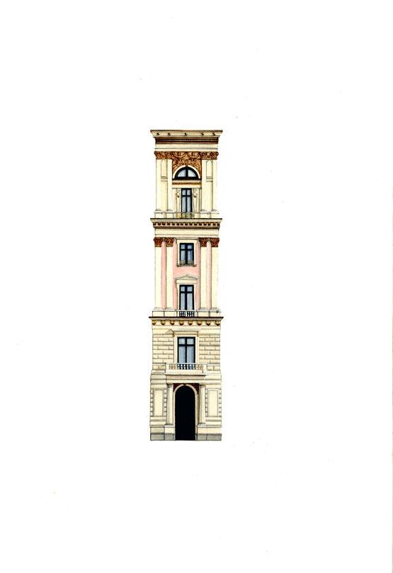 palazzo Ephrussi - modulo angolare