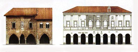 Il palazzo comunale risalente al 1200 e Palazzo dei Provveditori Veneti, detto anche palazzo Pretorio