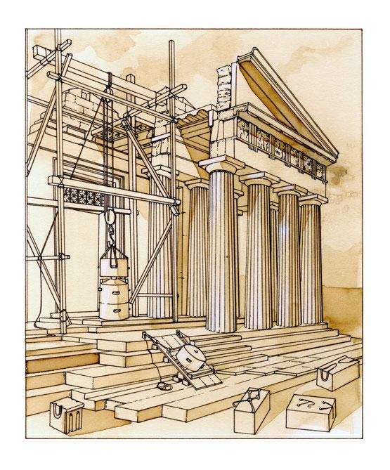 Costruzione del tempio