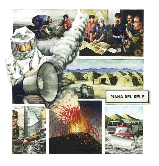 Le fasi previste dalla Protezione civile, in caso di eruzione