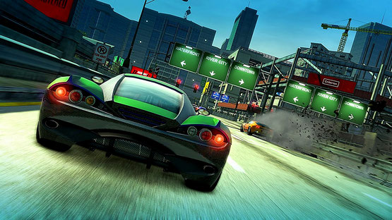 Burnout Paradise Remastered -  Highway und Stadt