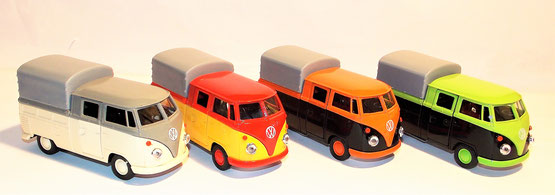 VW Bus T1 Doppel Kabine Pick UP, 12 cm