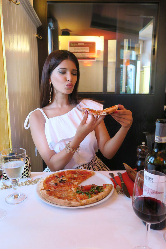 Restaurant Bella donna in Zurich, pizza, italianisch