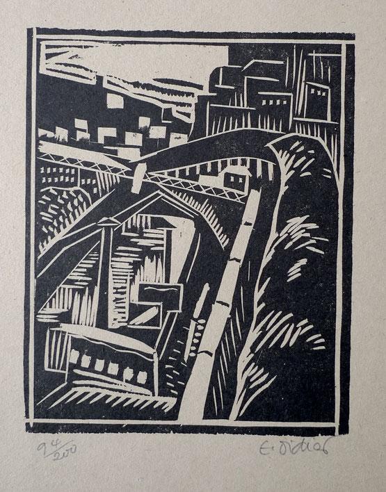 E. Didier, bois,  album ziniar de novembre 1920,13,5 x 16,9 cm.