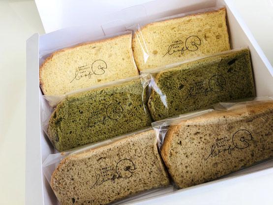 シフォンケーキ leaf 米粉