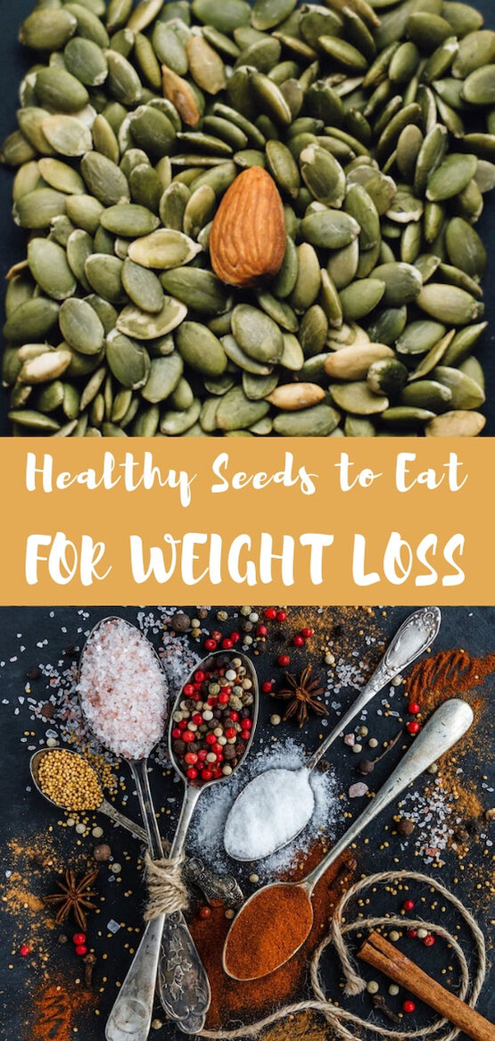 Looking for foods to help you lose weight? Are you eating vegetarian or vegan? These seeds for weight loss are great for healthy eating, plant-based diets, and people on a budget. #vegetarian #healthyeating #budgetfriendly #gethealthy