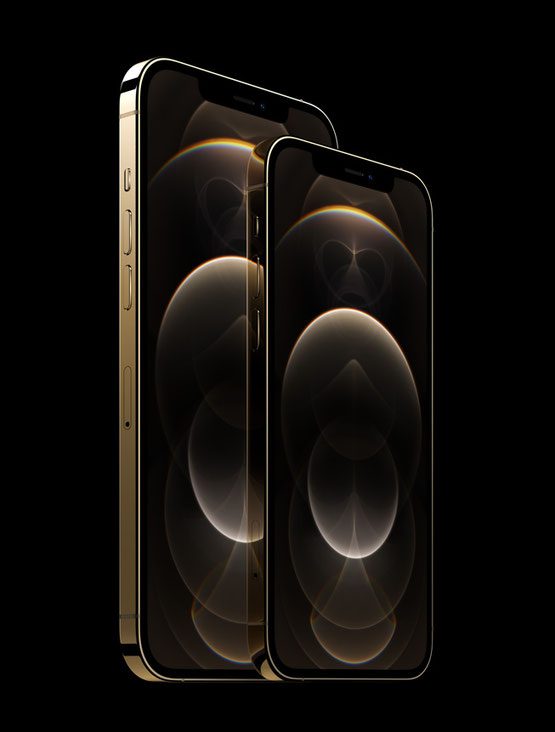 The 6.1-inch iPhone 12 Pro and 6.7-inch iPhone 12 Pro Max feature the largest Super Retina XDR displays ever on iPhone.
