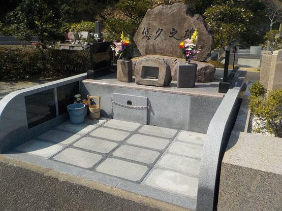 三浦霊園,地図