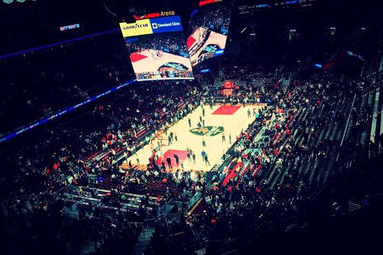 バスケットボール NBA 試合