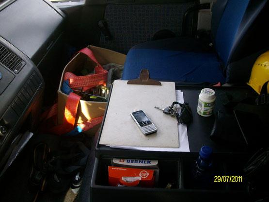 Mein fahrbarer Arbeitsplatz wurde für den shelter - Transport von meinem Arbeitgeber ausgeliehen. Vielen Dank!