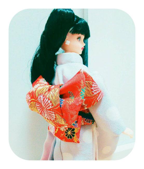 ジェニー 着物,ドール 振袖,Doll kimono