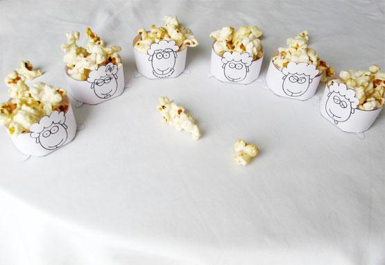 Beatrice Winkel - Niedliche Osterdekoration – Popcorn-Schafe