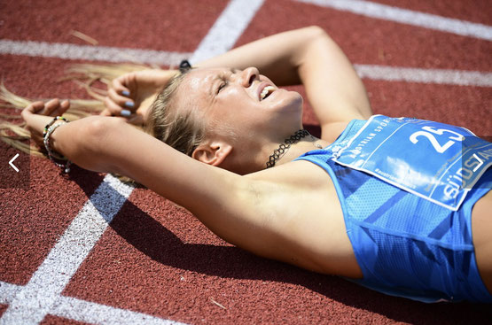 Julia Mayer Läuferin wien Österreich Dsg Staatsmeisterschaften 1500 5000 meter vizestaatsmeisterin Südstadt