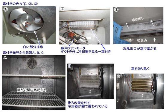 冷えない 修理 冷凍庫