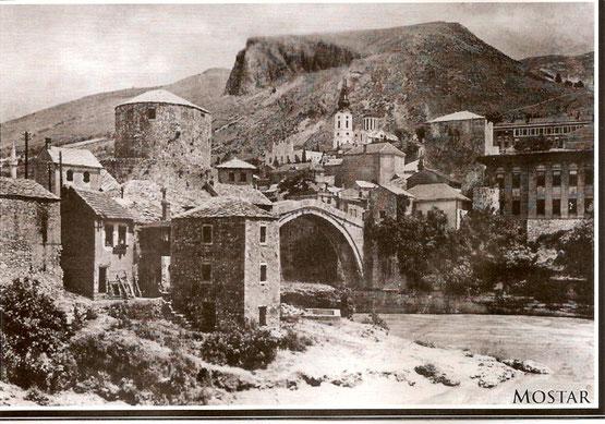 Mostar vor dem Krieg