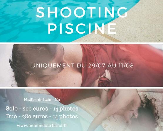 séance photo piscine dans les Yvelines
