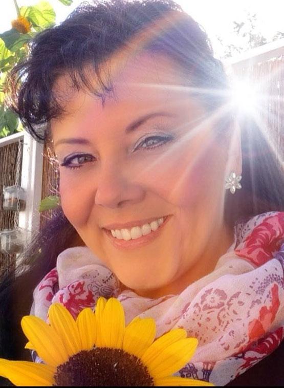 ~ Bild: Gabi Ahrens (Sonnenblume, warm) ~