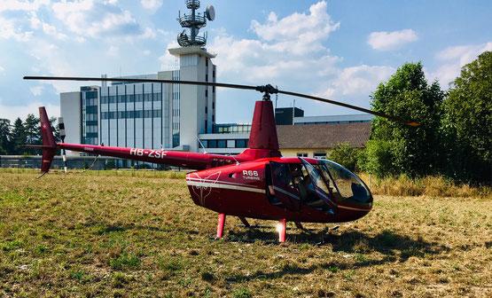 Landungen die nicht auf einem Flugplatz erfolgen unterliegen der Aussenlandeverordnung AuLaV
