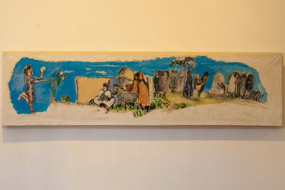 Bild: Bild von Martial Raysse im Musée Picasso in Antibes