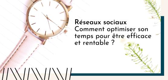 Temps réseaux sociaux / Communication TPE, Commerces, Indépendant