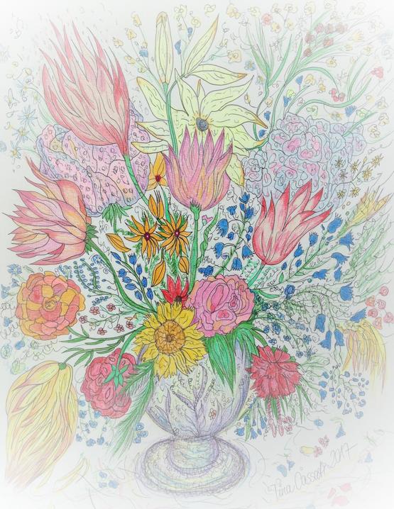 Fiori in Vaso / Tina Cassati