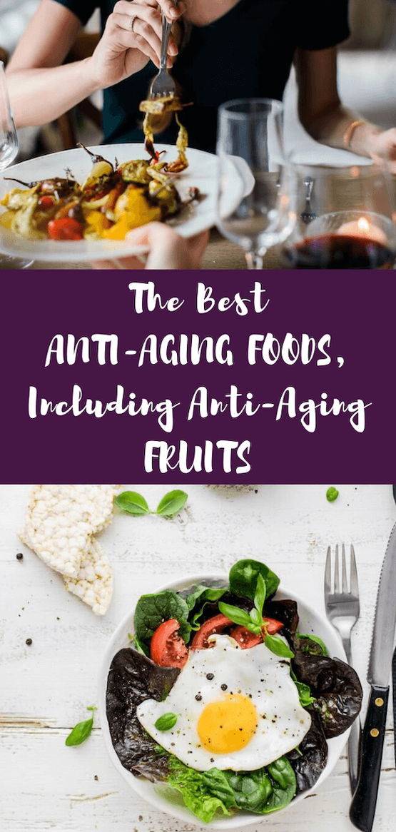 Fighting the signs of aging? The right anti-aging foods can help you stay young and aid your skincare routine. Get your anti-aging food list and tips for what to eat to look younger naturally. #antiaging #lookyounger #nutritiontips #moreenergy #whattoeat