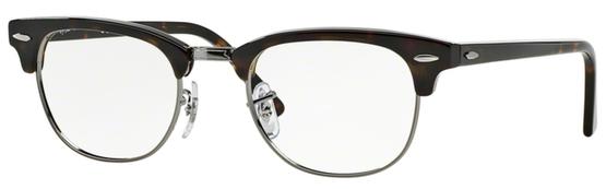Occhiali da vista Ray-Ban unisex 0RX 5154 Clubmaster. Colore: 2012 havana scuro. Forma: squadrata. Prezzo € 129,60. Spedizione gratis. Materiale: plastica.