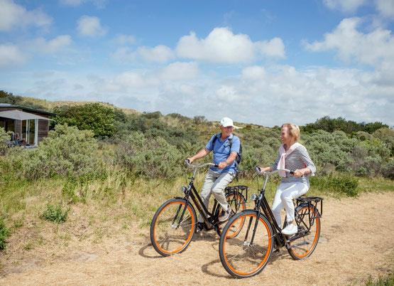 Te huur leuk vrijstaand chalet voor 4 personen op een vakantiepark in Egmond aan Zee met Wifi