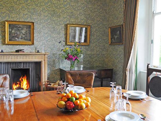 Te huur echt kasteel The South Wing in Schotland 12 personen, met internet