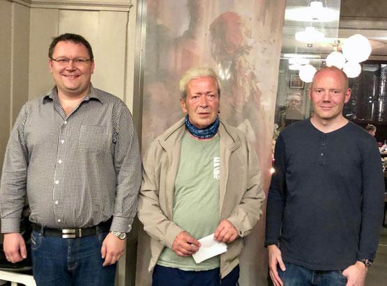 (vlnr) Thomas Isele, Mirko Mikavica, Sebastian Gattenlöhner