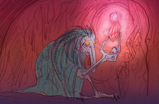 dungeon synth cave monster
