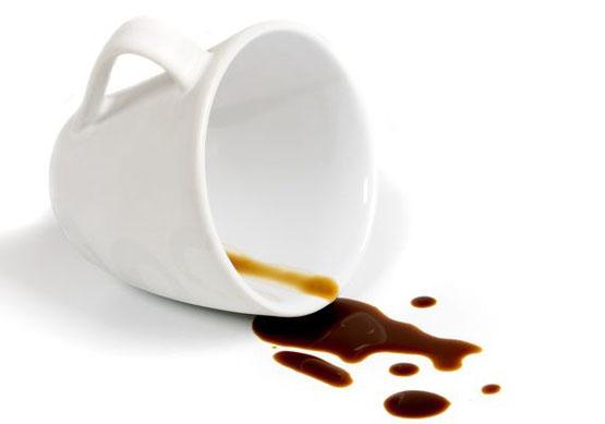 koffie Vlekken verwijderen