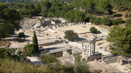 Glanum, cité gallo romaine