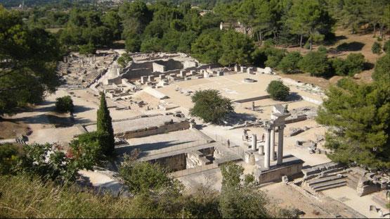 Glanum, cité gallo romaine