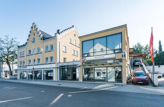 Autohaus Strasser 50 Jahre Fiat Vertragshändler sowie Citroen offizieller Citroen Händler in Rosenheim
