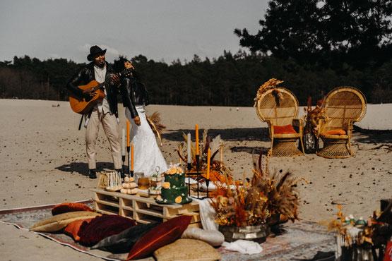 styled shoot met trouwfotograaf