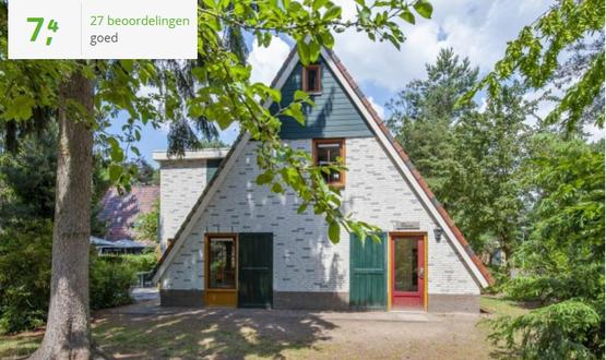 Te huur vakantiehuisjes in de provincie Noord-Brabant met Wifi, honden toegestaan
